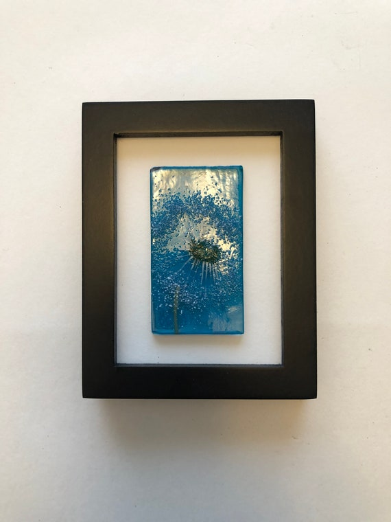 Fused Glass wall art, Glass art, unique art, Glass home decor, glass wall panel, Unique gifts for mom, glass sculpture, Gifts