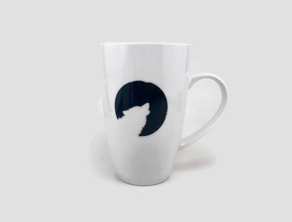 Wolf Coffee mug, wolf home decor, housewarming gifts, nature lover gifts, gifts for him