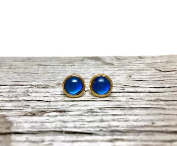 Butterfly studs, minimalist Earrings, real butterfly earrings, unique gifts for her, Blue Morpho, butterfly jewelry, jewelry for her, gifts
