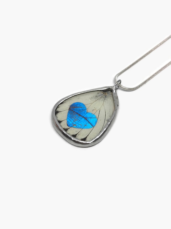 butterfly necklace, unique gifts for her, Real butterfly jewelry, gifts for mom, real butterfly wing, Butterfly pendant, insect taxidermy