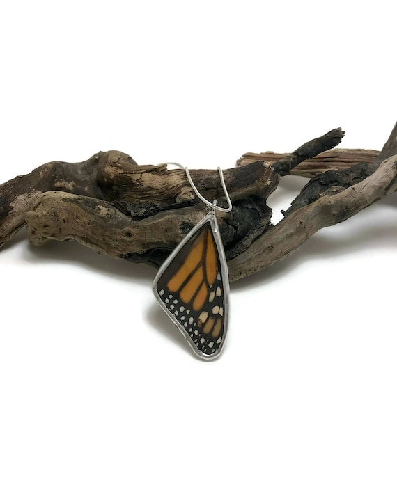 Real butterfly jewelry, Real Butterfly Necklace, real butterfly wing, butterfly necklace, insect jewelry, insect pendant, glass jewelry