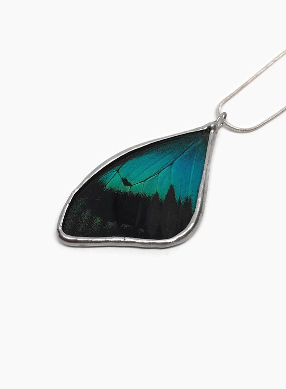butterfly pendant, unique gifts for her, real butterfly wing, best friend gifts, Butterfly lover, butterfly taxidermy