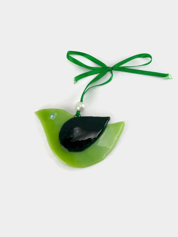 fused glass art, fused glass ornament, fused glass decoration, Christmas decoration, glass ornament, Christmas ornament, home decor, glass