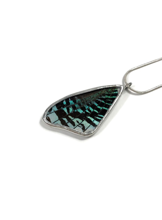 butterfly wing jewelry, Unique gifts for her, insect pendant, real butterfly wing, taxidermy butterfly wing jewelry, best selling items