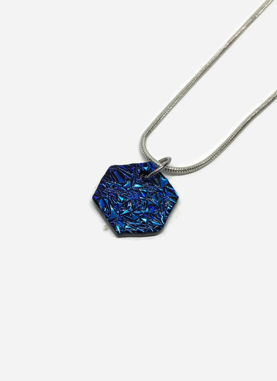 Fused glass jewelry, fused glass necklace, Dichroic Glass Pendant, Fused Glass Pendant, dichroic glass necklace, glass pendant, glass