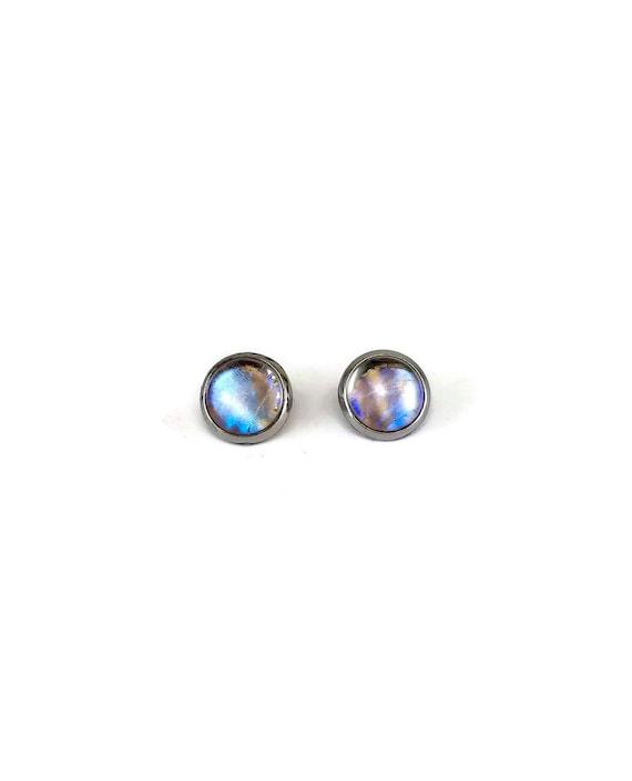 Butterfly earrings, real butterfly wing jewelry, butterfly stud, real butterfly studs, insect jewelry, insect earrings, unique jewelry