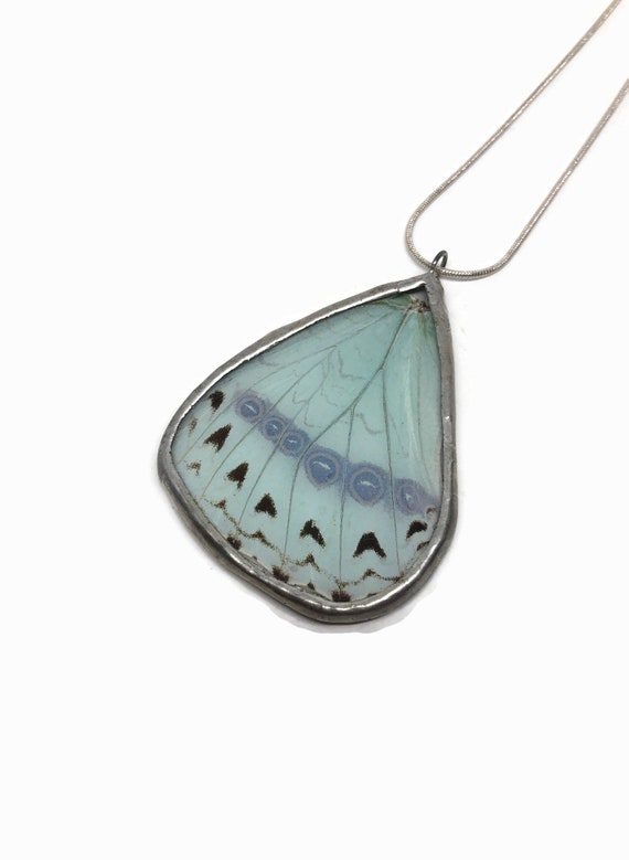 Butterfly Pendant,Unique jewelry, Jewelry for mom, real butterfly wing, unique jewelry for her, insect jewelry, Butterfly taxidermy, gift