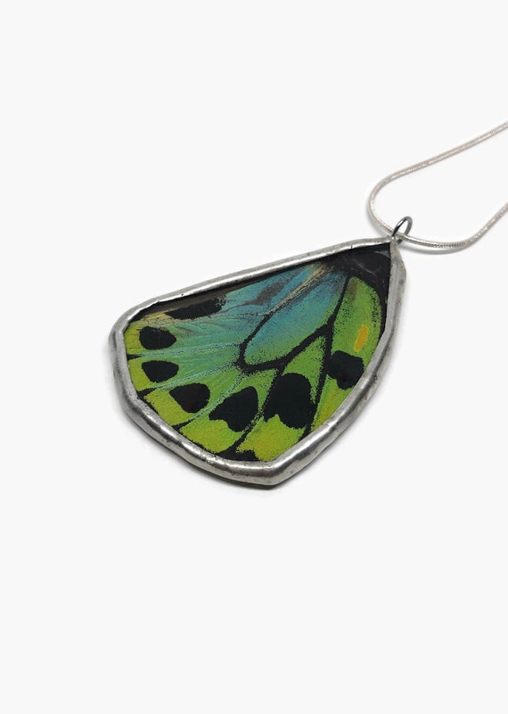 Handcrafted Butterfly jewelry, jewelry for her, real butterfly wing, gifts for mom, butterfly taxidermy
