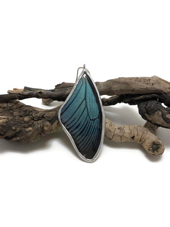 Real Butterfly Jewelry, statement jewelry, real butterfly wing, unique jewelry, Butterfly necklace, real butterfly Pendant, Insect jewelry