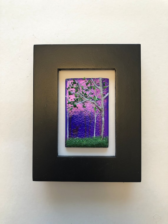 Fused Glass wall art, unique gifts for her, unique art, glass home decor, glass sculpture