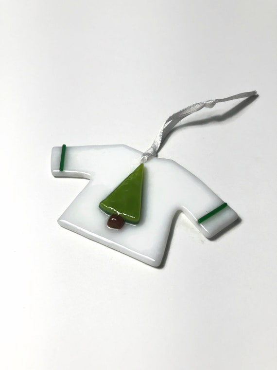 Handcrafted fused glass suncatcher ornament, Unique gifts for her, glass home decor