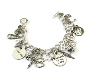 NEW - Kate Bush Charm Bracelet - This WOMAN'S WORK Ed2 - limited edition Etsy uk