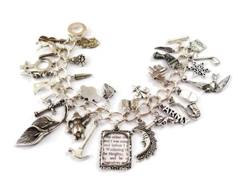 Kate Bush Charm Bracelet - This WOMAN'S WORK - limited edition Etsy uk