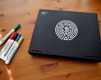 Westworld Maze Laptop / Window Sticker