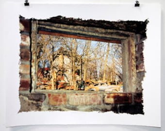 Window of Memories is a Large Format Fine Art Print.