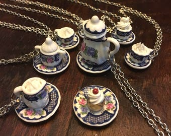Cup of Tea? Necklaces & Brooch - Artistry To Alchemy