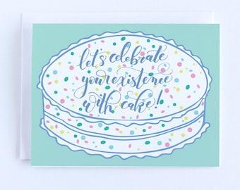 Girlfriend Birthday Card, Funny Birthday Card for Best Friend, Birthday Greeting Card, Boyfriend Birthday Card, Sister Birthday Card