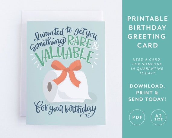 Quarantine Funny Birthday Card For Sister Printable Social Distance Birthday Cards For Boyfriend Pandemic Isolation Instant Download Card By Pedaller Designs Catch My Party