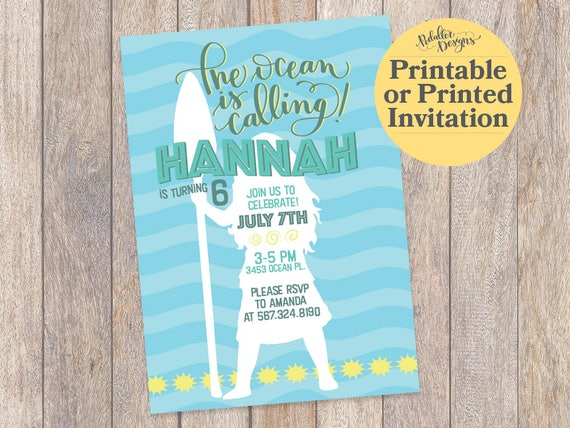 picture about Moana Printable Invitations called Moana Invites, Moana Occasion Invitation, Moana Birthday