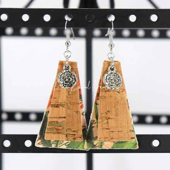 Mixed Media Earrings - Anne