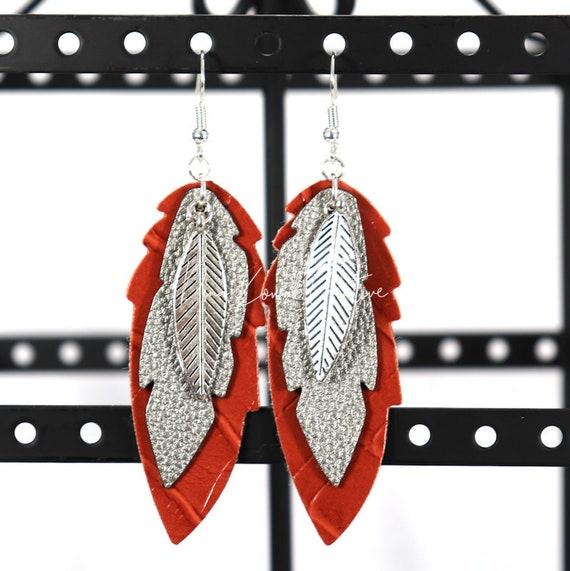 Mixed Media Earrings - Sandra
