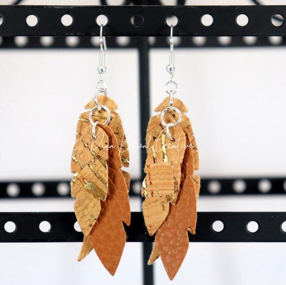 Mixed Media Earrings - Allison