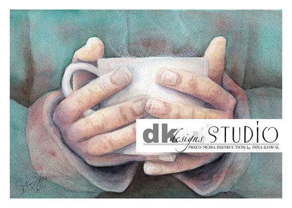 """Morning Coffee -  5""""x 7"""""""