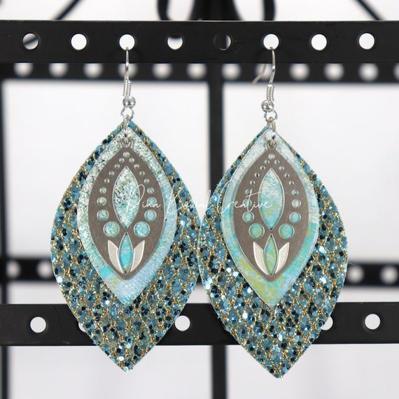Mixed Media Earrings - Donnetta