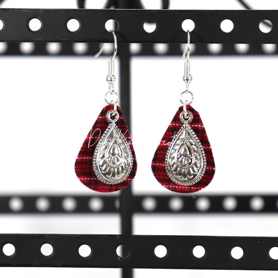 Mixed Media Earrings - Rosie