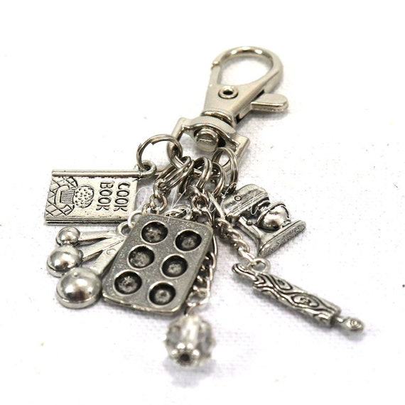 Purse Charm - Cook Chef Baker Cookie Cupcake Maker