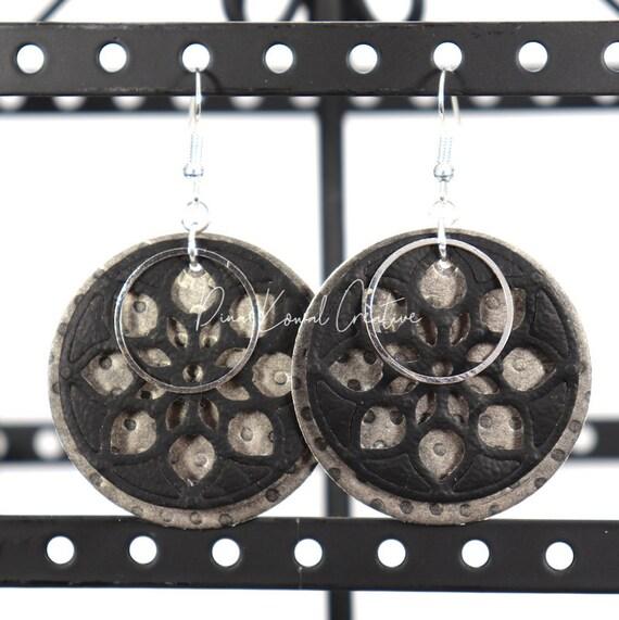 Mixed Media Earrings - Beth