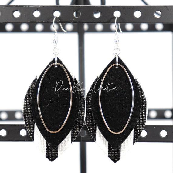 Mixed Media Earrings - Emmaleigh