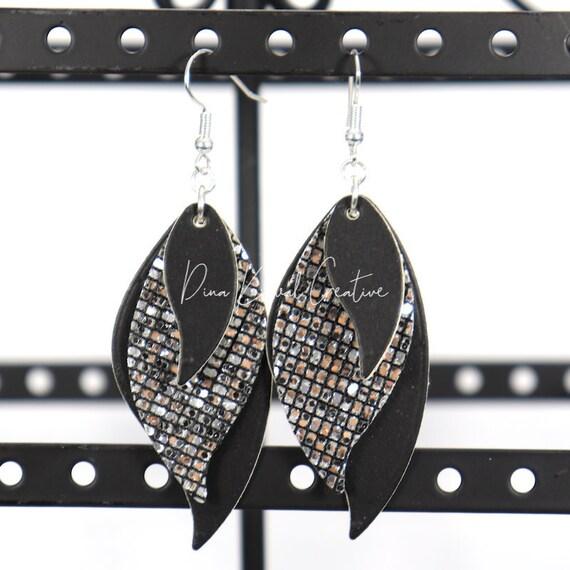 Mixed Media Earrings - Adrienne