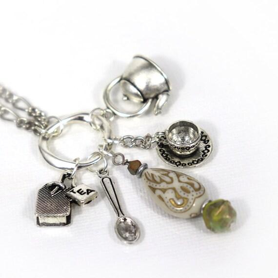 Charm Necklace - Tea Maker
