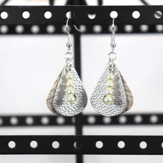 Mixed Media Earrings - Shirley
