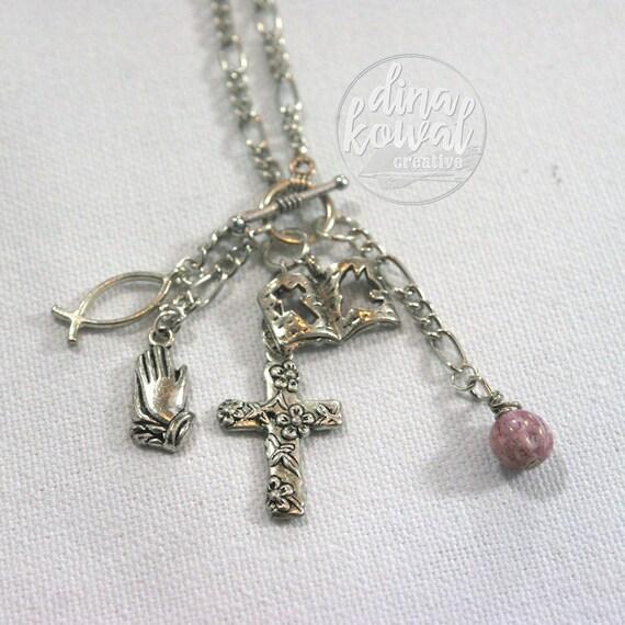 Charm Necklace - Christian - Prayer