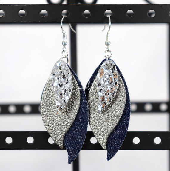 Mixed Media Earrings - Kathy