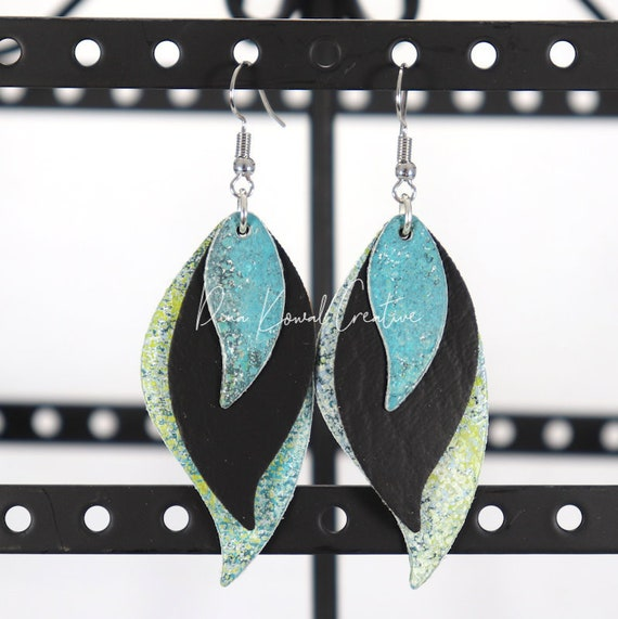 Mixed Media Earrings - Kristen