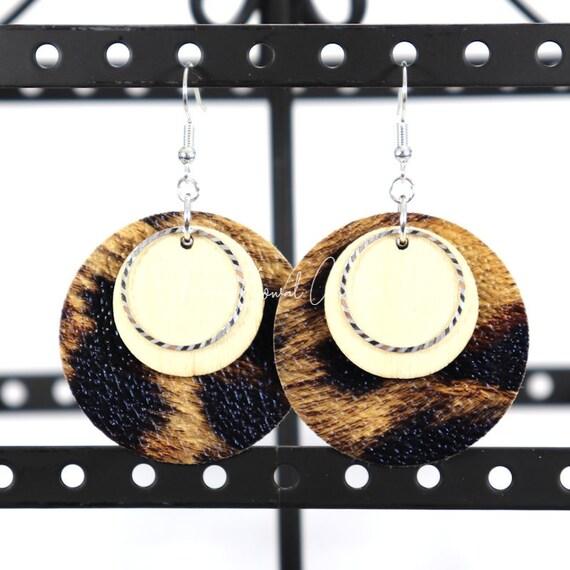 Mixed Media Earrings - Dina