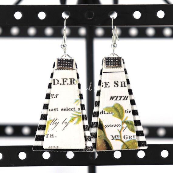 Mixed Media Earrings - Eisley
