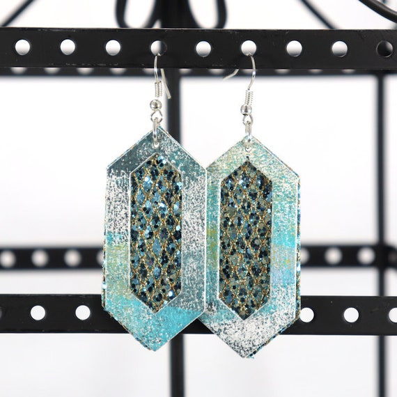 Mixed Media Earrings - Mary Jo