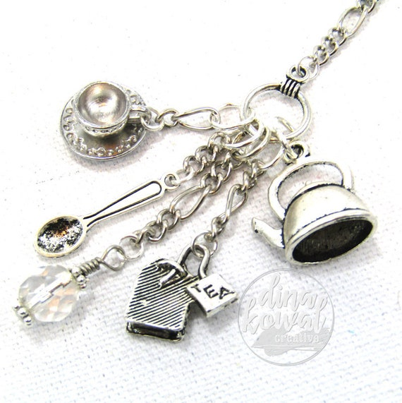 Charm Necklace - Tea Maker
