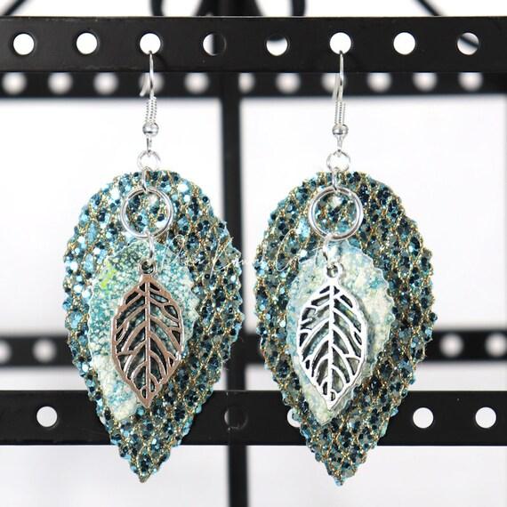 Mixed Media Earrings - Alea