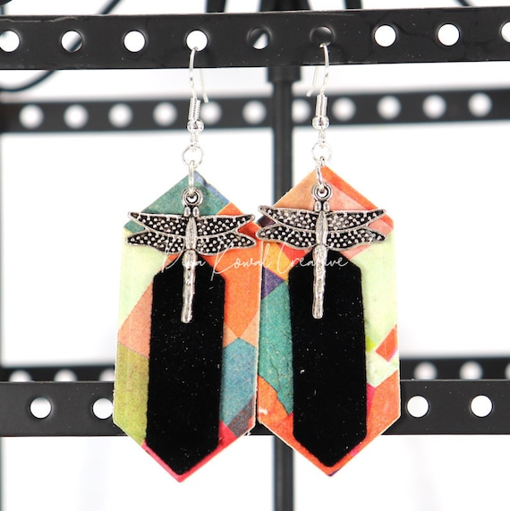 Mixed Media Earrings - Kristin