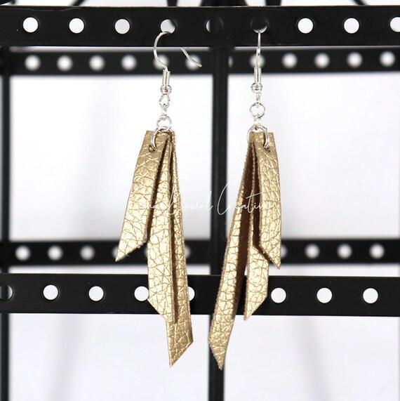 Mixed Media Earrings - Anita