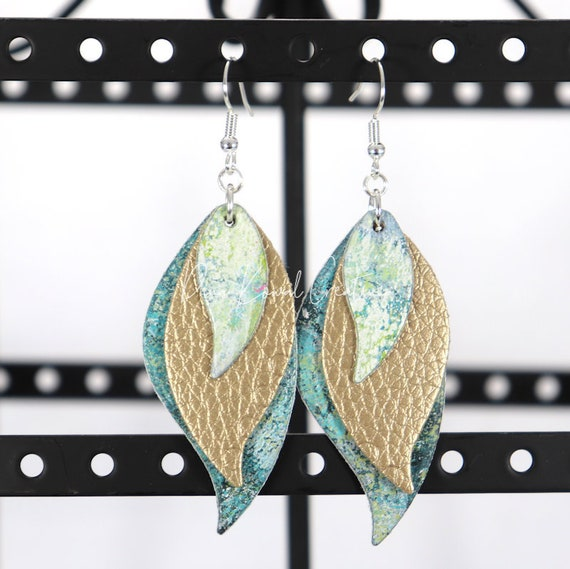 Mixed Media Earrings - Tearra