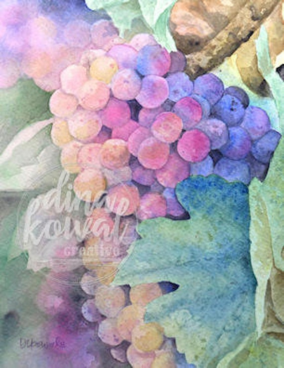 Vineyard Glow fine art print