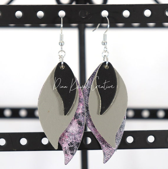Mixed Media Earrings - Maryann