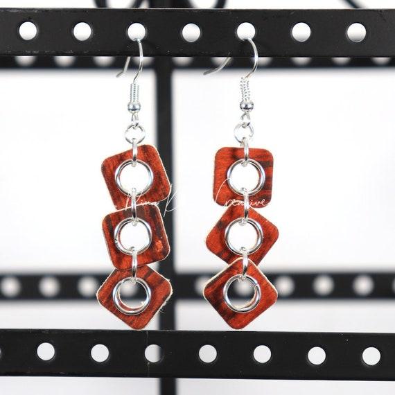 Mixed Media Earrings - Jill