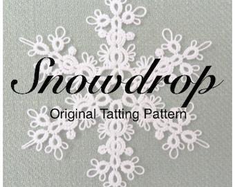 Snowdrop - TATTING PATTERN